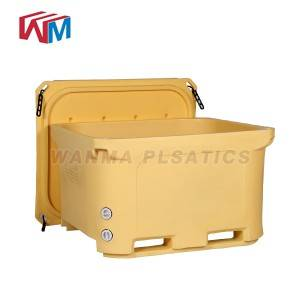 OEM Supply Foodgrade Cold Storage Box - 600L  Plastic Cooler container – Wanma Rotomold