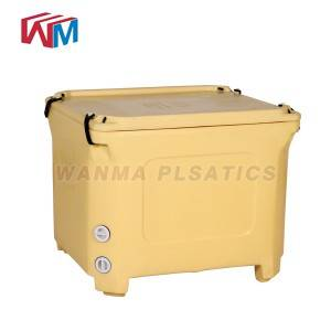 High Quality China Wholesale Reusable Colorful Ice Cooler Box to Keep Food Fresh