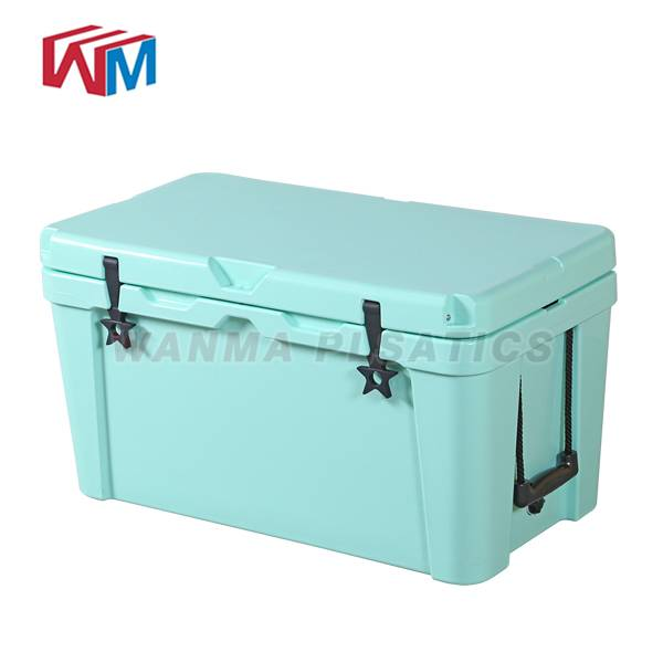 Manufacturer for Thermal Insulated Cooler Bag - 25L Blue Cooler box – Wanma Rotomold