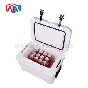 China Cheap price Gel Can Cooler Plastic Cooler Box - 25L fishing box – Wanma Rotomold