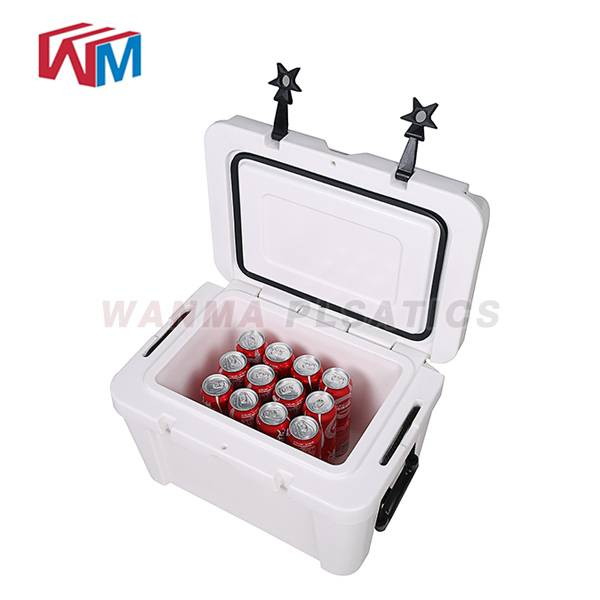 Cheapest Price Promotion Ice Box Of Drink &plastic Cooler Box - 25L fishing box – Wanma Rotomold