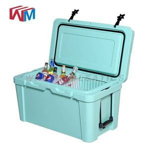 OEM/ODM Supplier Hot Sale Dry Ice Thermal Cooler Box - 25L Blue Cooler box – Wanma Rotomold