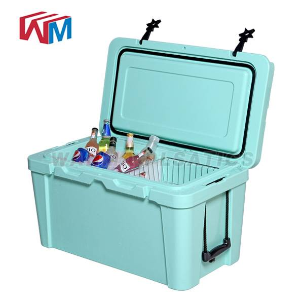 Manufacturer for Thermal Insulated Cooler Bag - 25L Blue Cooler box – Wanma Rotomold Featured Image