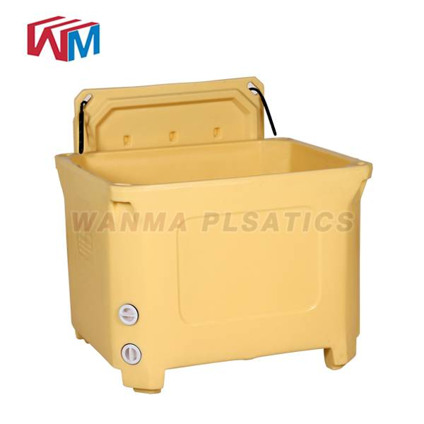 Factory directly Frozen Seafood Shipping Cooler Box - 300L  Rotomolded Fishing Ice Box – Wanma Rotomold