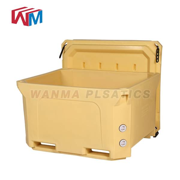 High definition Portable Frozn Cooler Box - 660L  Refrigeratory Container – Wanma Rotomold