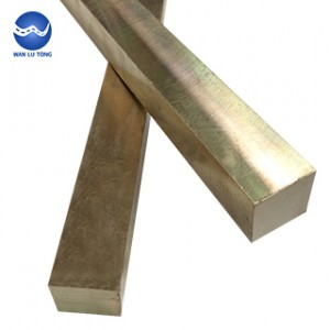 Aluminum bronze square rod