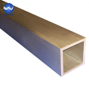 Aluminum bronze square tube