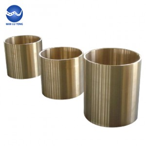 Aluminum bronze thin wall tube