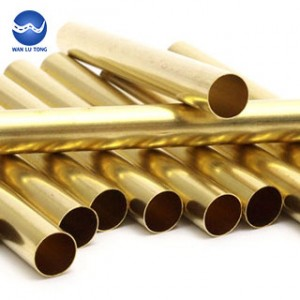 Brass thin wall tube