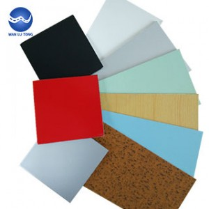 Color aluminum plate