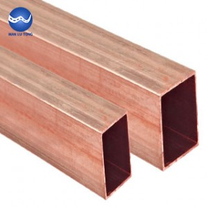 Copper rectangular tube