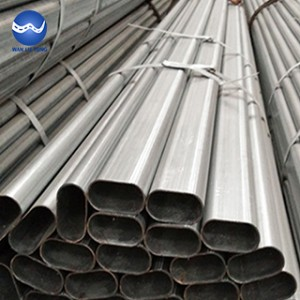 Galvanized oval tube