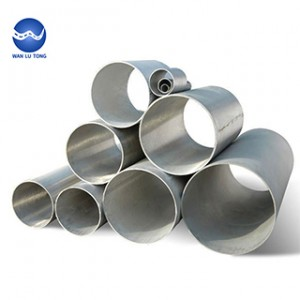 Large diameter stainless steel seamless tube