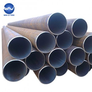 Large diameter seamless steel tube