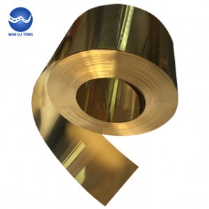 Lead brass coil