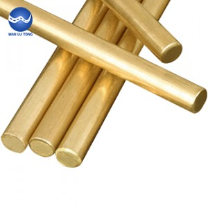 Lead brass round rod
