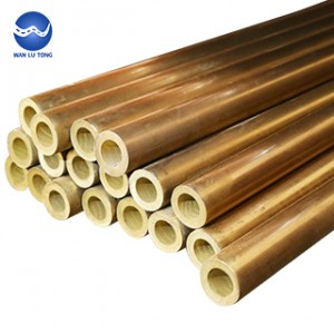 Lead brass round tube