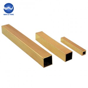 Lead brass square tube