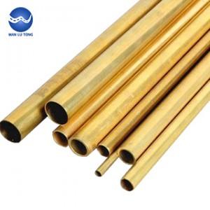 Lead brass thin wall tube