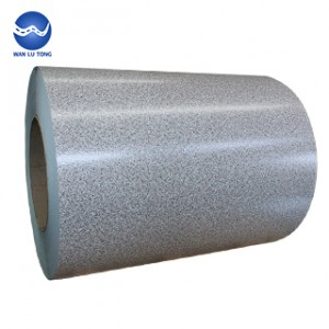 Pattern galvanized steel coil