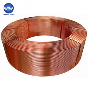 Purple copper flat wire