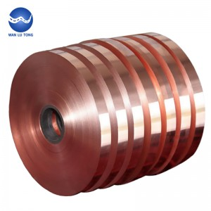 Purple copper strip