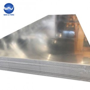 Rust-proof aluminum alloy plate