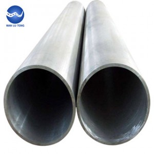Large diameter aluminum tube