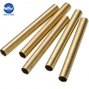 Seamless lead brass tube