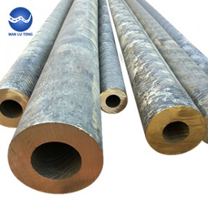 Seamless tin bronze tube