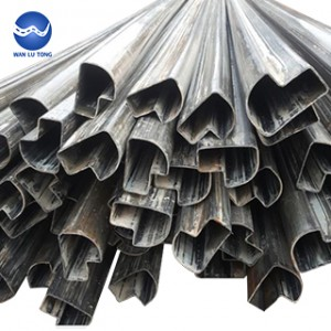 Shaped steel tube