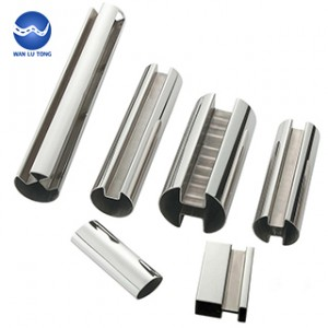 Stainless steel shaped tube