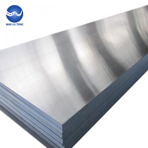 Stretch aluminum plate