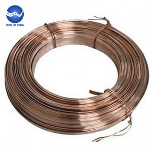Tin bronze flat wire