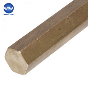Tin bronze hexagonal rod