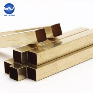 Tin bronze square tube