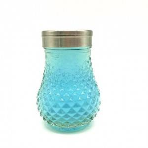 glass bbq spice shaker bottle