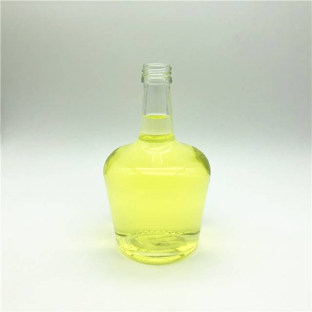 Clear 250ml glass bottles for vinegar oil packaging