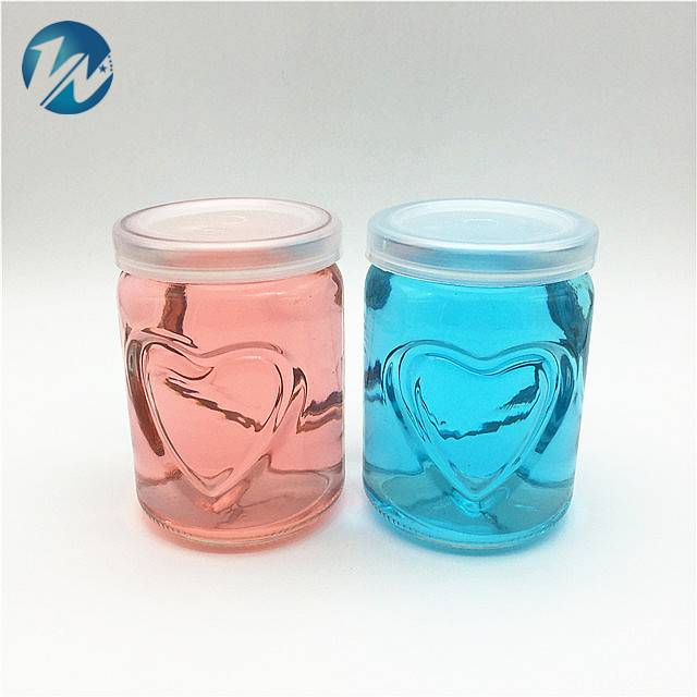 Wholesale Discount Bamboo Glass Jar -