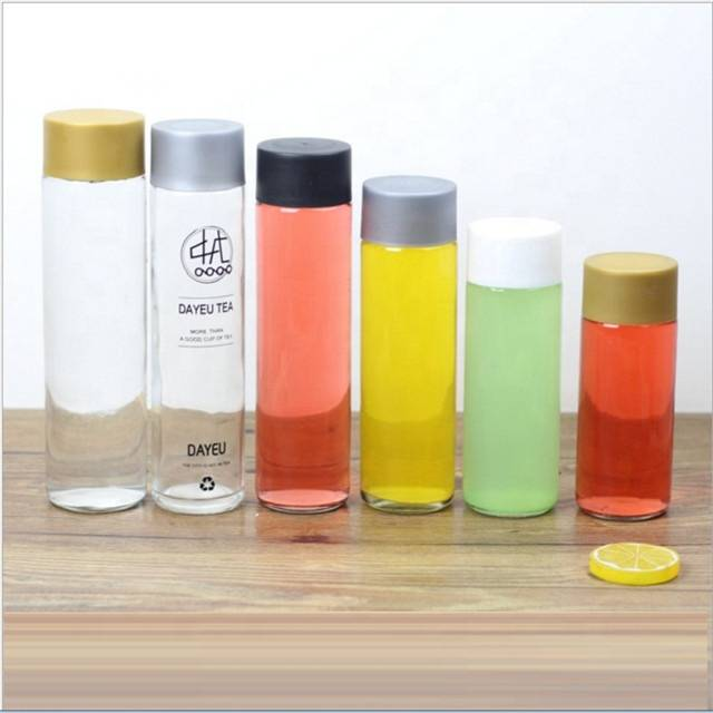 250ml 300ml 350ml 375ml 400ml 500ml 800ml voss glass  juice bottle