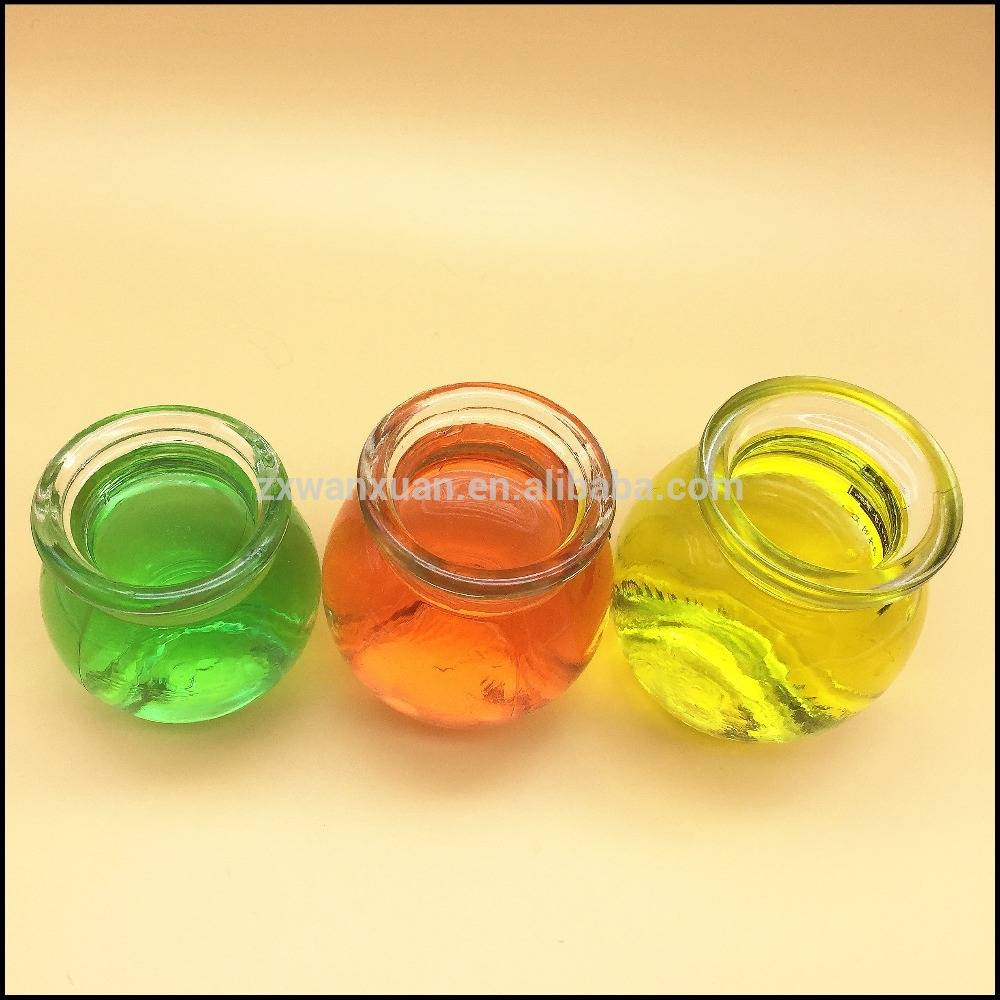 80ml 120ml 140ml ball shape honey yogurt glass jar Ice cream bottle