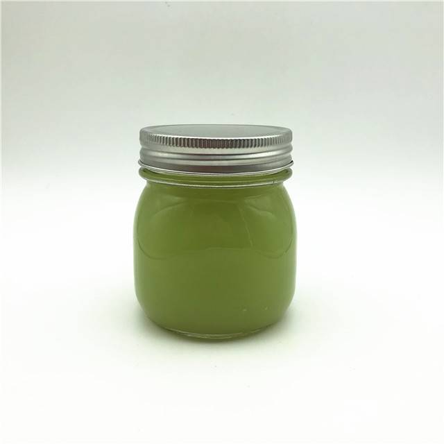 8oz 250ml wide mouth frutta del prato glass mason jar with lids