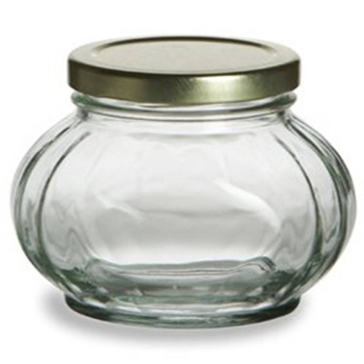 4 oz Round Glass Jars for Jam Honey