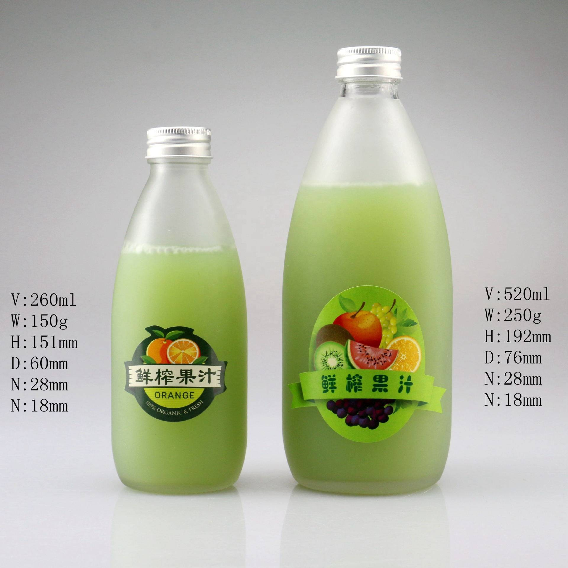 Factory wholesale Glass Bottles -