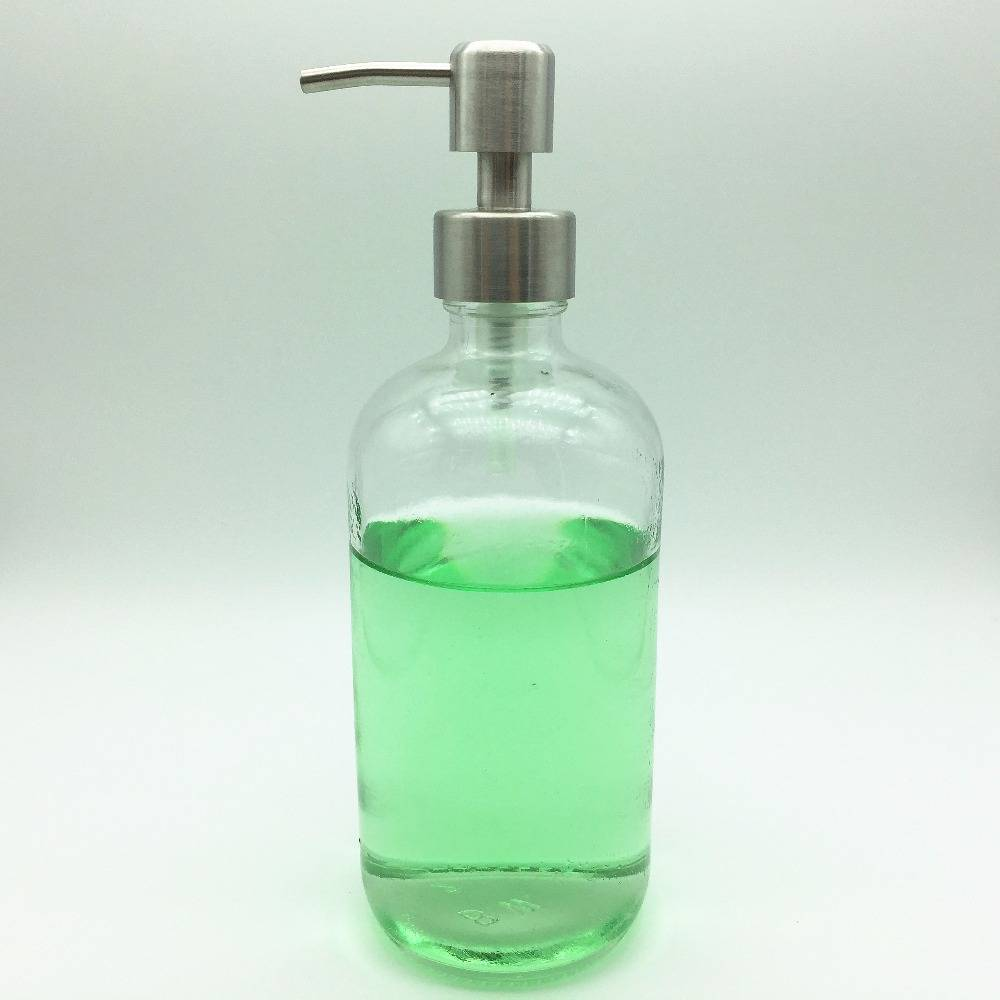 500ml clear glass spray bottle