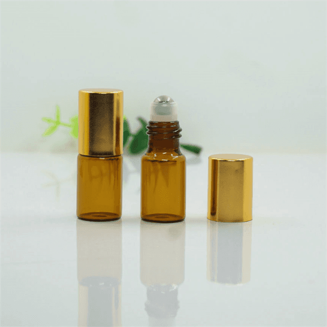 Factory selling Amber Essential Oil Glass Bottle -