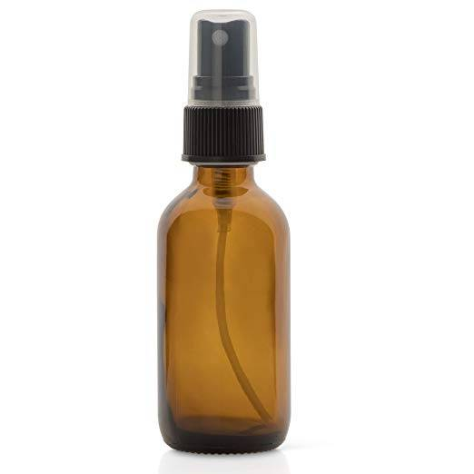 60ML 2oz Amber Glass Spray Bottles for Essential Oils