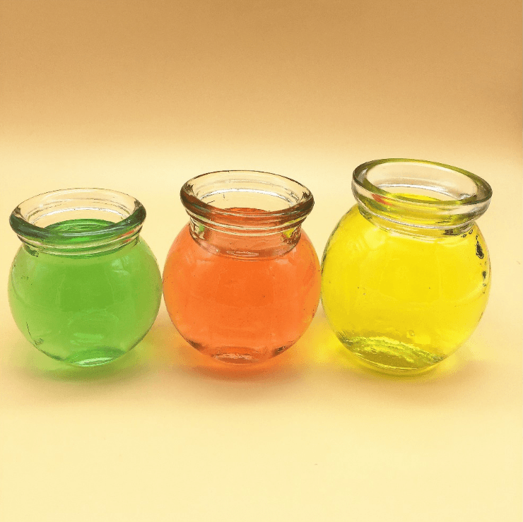 80ml 120ml 140ml ball shape honey yogurt glass jar Ice cream bottle Featured Image