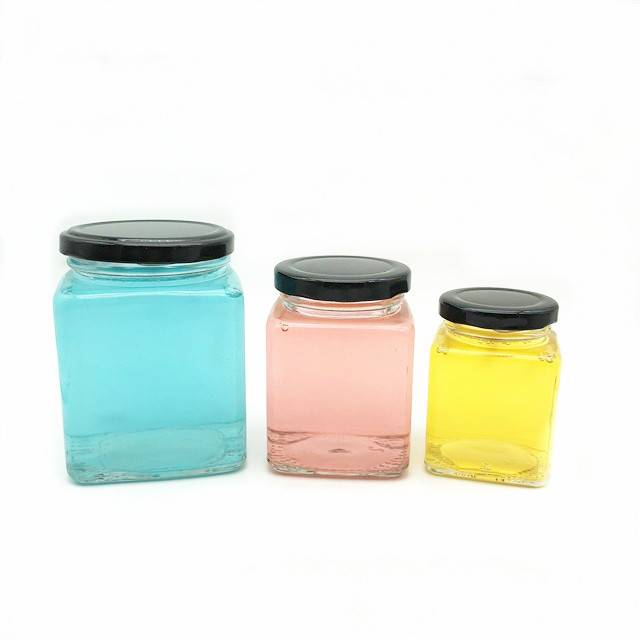 Discount Price Hexagonal Glass Jar -