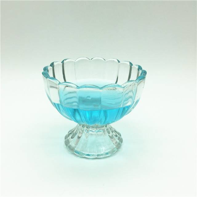 Crystal Glassware Wedding Drinkware Goblet Ice Cream mini Goblets Glass